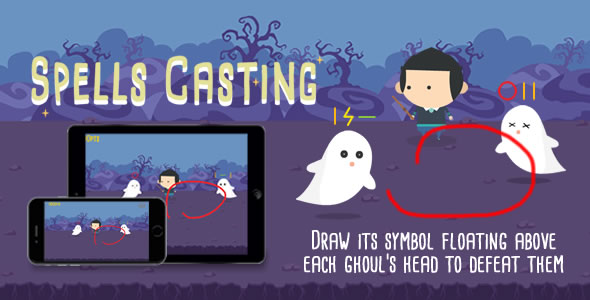Spells Casting - HTML5 Game - CodeCanyon Item for Sale