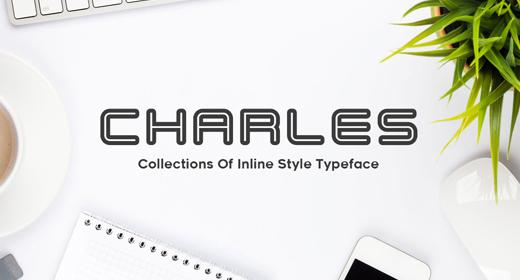 Inline Typeface