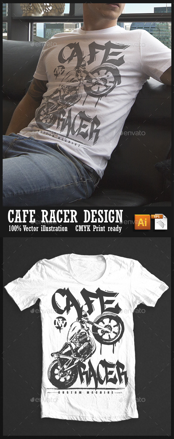 Cafe Racer - Grunge Designs