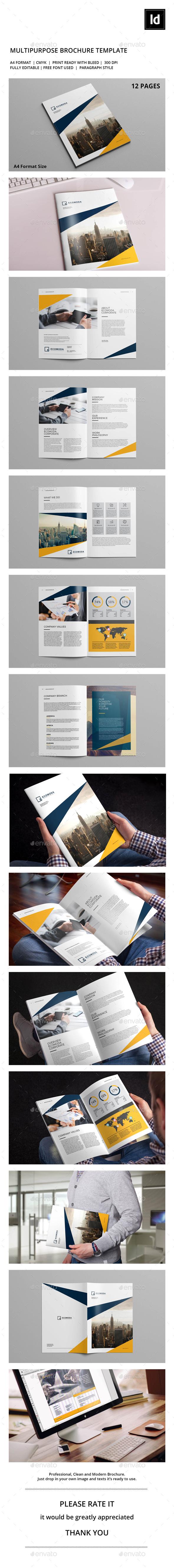 Ecomoda Corporate Brochure - Corporate Brochures