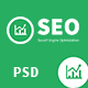 SEO PRO - Search Engine Optimization & Marketing PSD Template Nulled