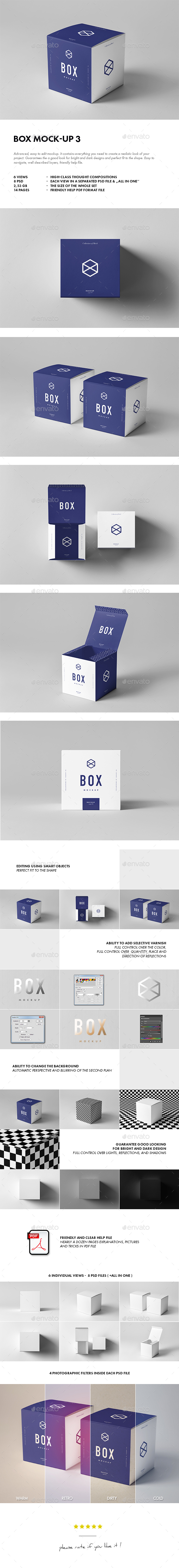 Box Mock-up 3 - Miscellaneous Packaging