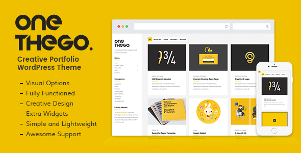OneTheGo | Creative Agency Showcase Responsive WordPress Theme - Creative WordPress