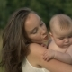 Young Mum Holds On Hands Her Little Baby - VideoHive Item for Sale