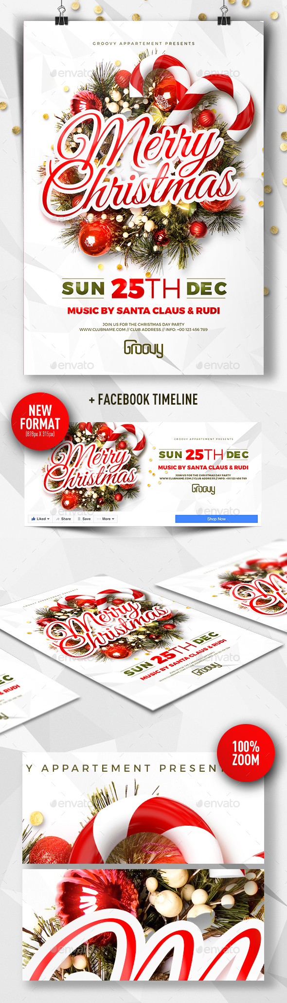 Merry Christmas Party V2 - Clubs & Parties Events