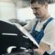 Man Repairing Car Bumper. - VideoHive Item for Sale