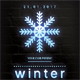 Winter Party Neon Poster - GraphicRiver Item for Sale