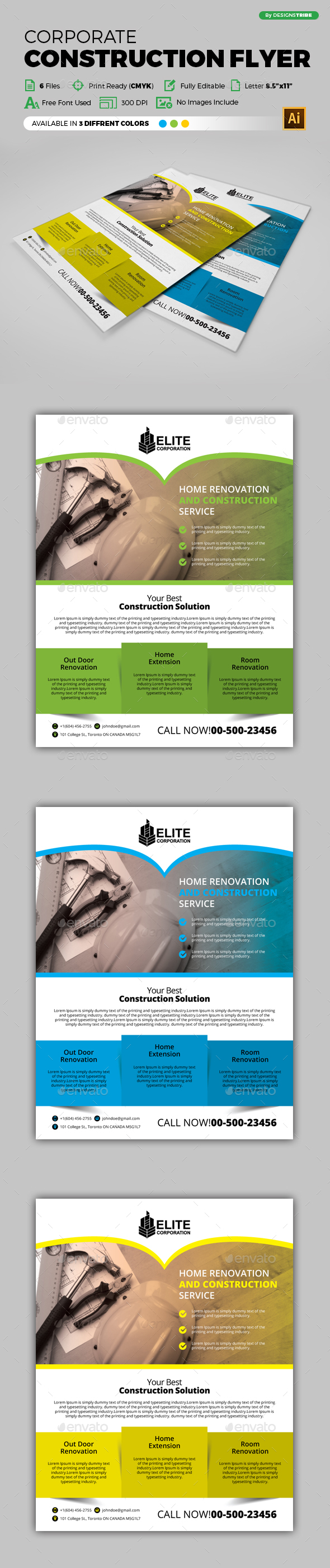 Flyer – Multipurpose 236 - Corporate Flyers