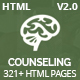 Counseling - Best Psychology & Counseling HTML5 Template - ThemeForest Item for Sale