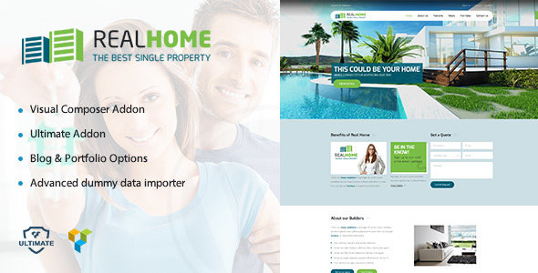 Single Property | Real Estate WordPress Theme for Villas