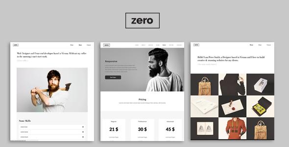 Zero – Responsive Creative Theme