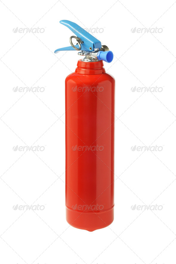 Mini Portable Fire Extinguisher - Stock Photo - Images