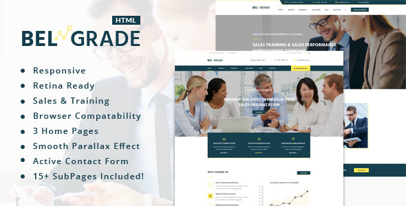 Belgrade – Training, Coaching, Consulting & Business HTML Template