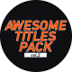 Awesome Title Pack 2 - VideoHive Item for Sale