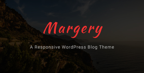 Margery - a Responsive WordPress Blog Theme - Personal Blog / Magazine