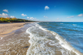 Baltic sea and the Gulf of Danzig coast in Poland. - PhotoDune Item for Sale