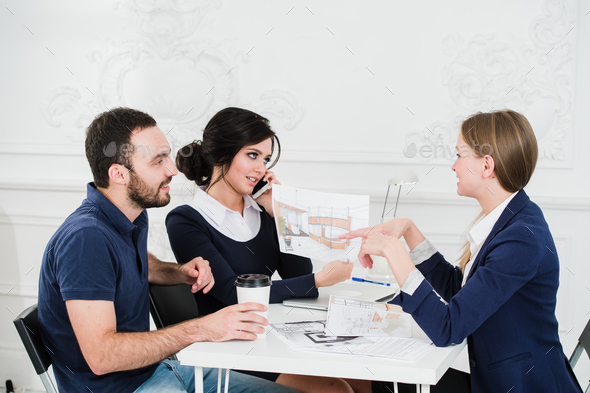 Diverse Architect People Group Working Concept - Stock Photo - Images