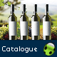 Wine Brochure / Catalogue - GraphicRiver Item for Sale