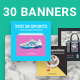Modern Instagram Banners - GraphicRiver Item for Sale