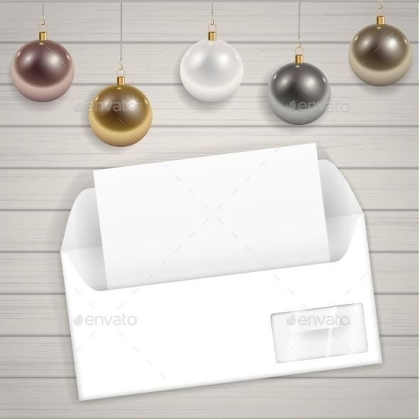Congratulatory Christmas Envelope - Christmas Seasons/Holidays