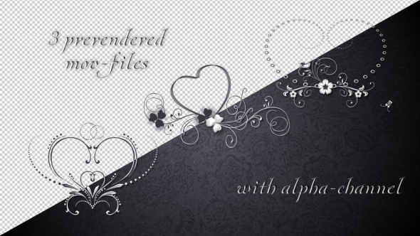 Romantic Pack Animated Frames For Kisses by venezianka | VideoHive