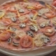 The Pizza On The Table. The Food On The Table. - VideoHive Item for Sale