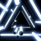 Glow Neon White Lights Tunnel - VideoHive Item for Sale