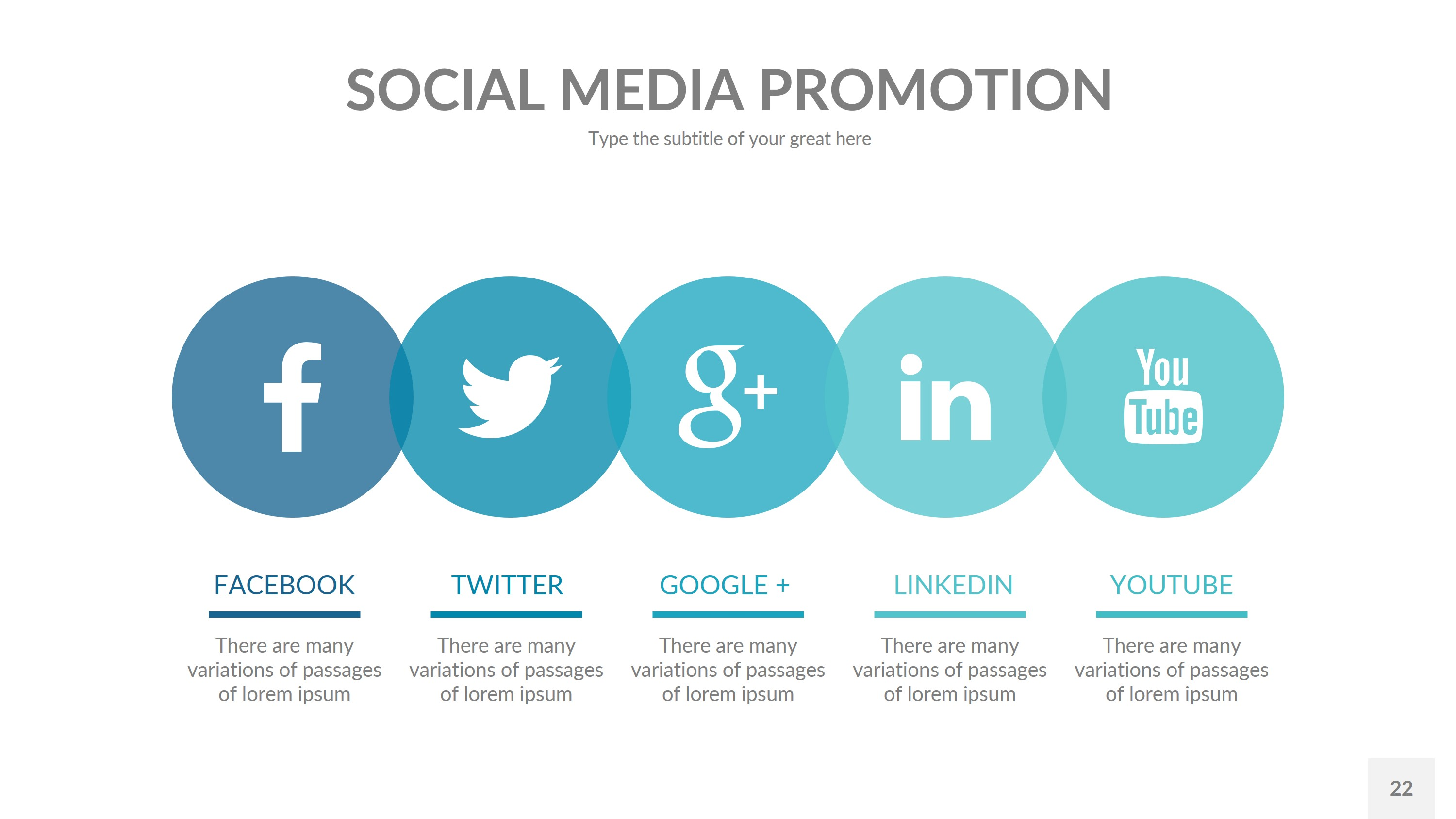 social media business powerpoint presentation templaterengstudio, Modern powerpoint