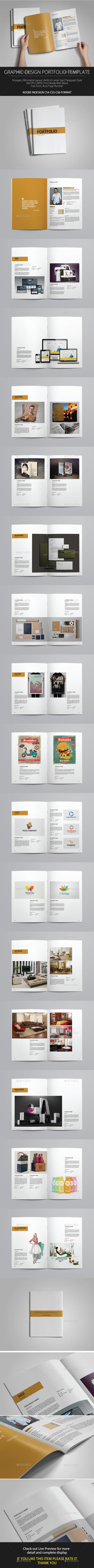Graphic Design Portfolio vol 1 - Portfolio Brochures