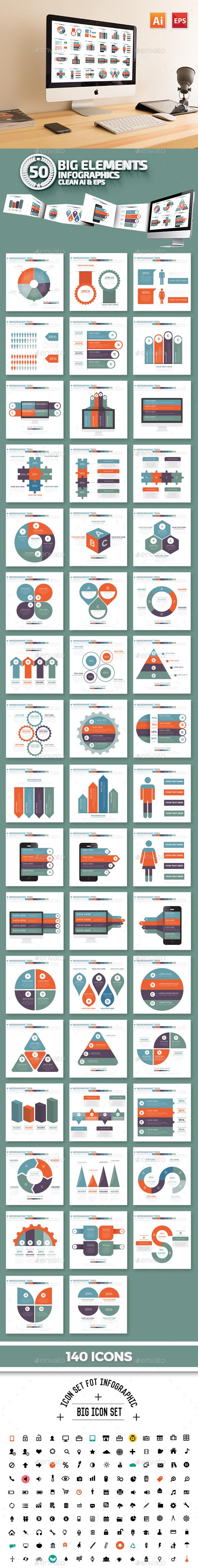 50 Infographics Design - Infographics