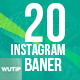 20 Instagram Organic Shop Banners - GraphicRiver Item for Sale