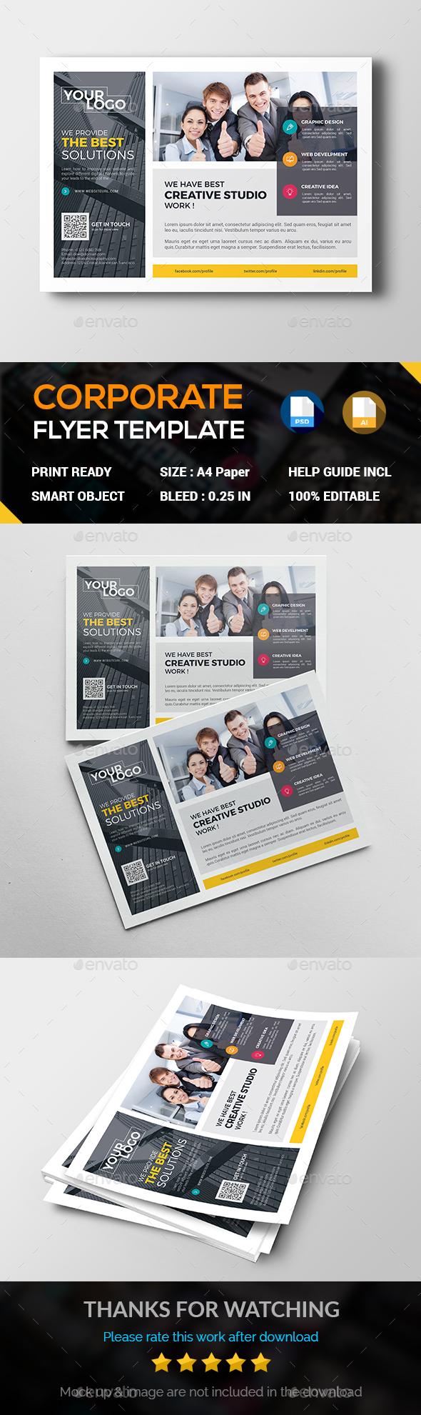 Multi Purpose Business Flyer - Corporate Flyers