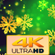 Christmas Gold Snowflakes 2 - VideoHive Item for Sale