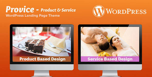 Provice WordPress Landing Page Theme