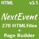 NextEvent - Conference & Event Responsive HTML5 Template