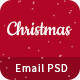 Christmas - Offers/Greetings Email Template PSD - GraphicRiver Item for Sale
