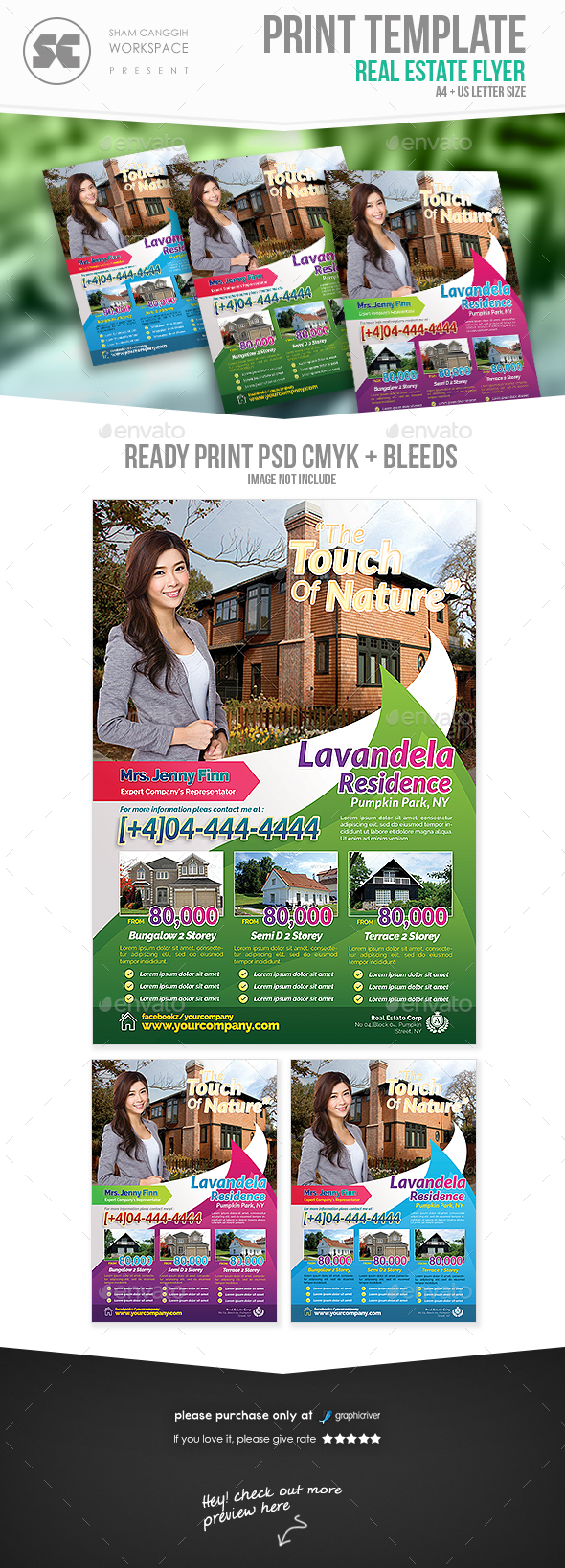 Real Estate Flyer - Miscellaneous Events