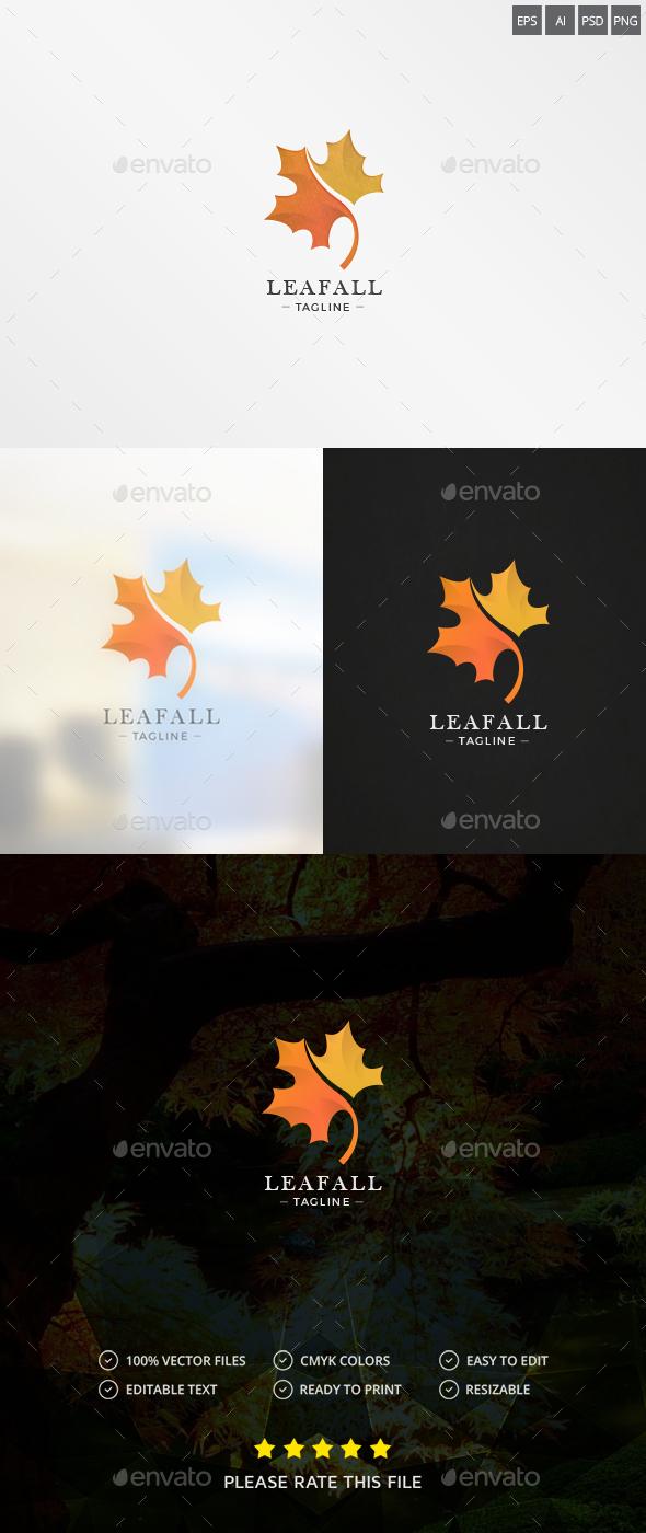 Maple Leaf Logo - Nature Logo Templates