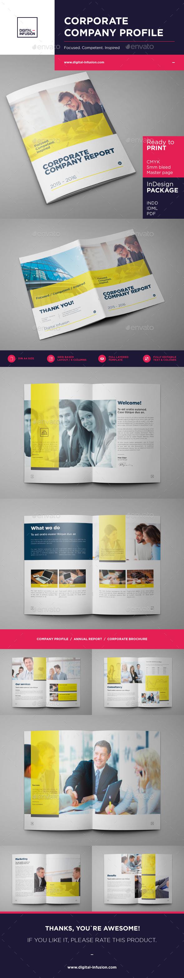 Corporate Company Profile - Corporate Brochures