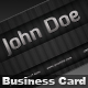Carved Business Card - GraphicRiver Item for Sale