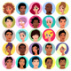 Collection of Female and Male Avatars - GraphicRiver Item for Sale