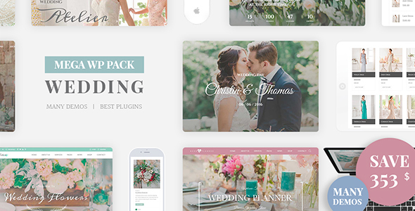 Wedding Industry Wedding Multipurpose Couple WP