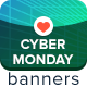 Cyber Monday Sale Banners - GraphicRiver Item for Sale