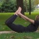 The Young Beautiful Girl Engaged In Yoga - VideoHive Item for Sale