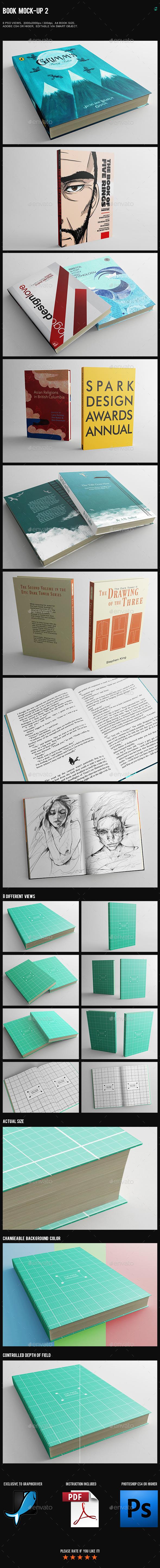 Book Mock-Up 2 - Books Print