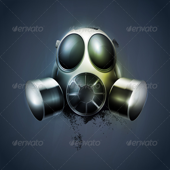Gas mask - Objects Vectors
