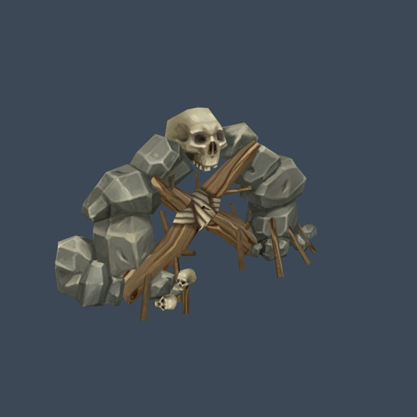 Build Cave1 - 3DOcean Item for Sale