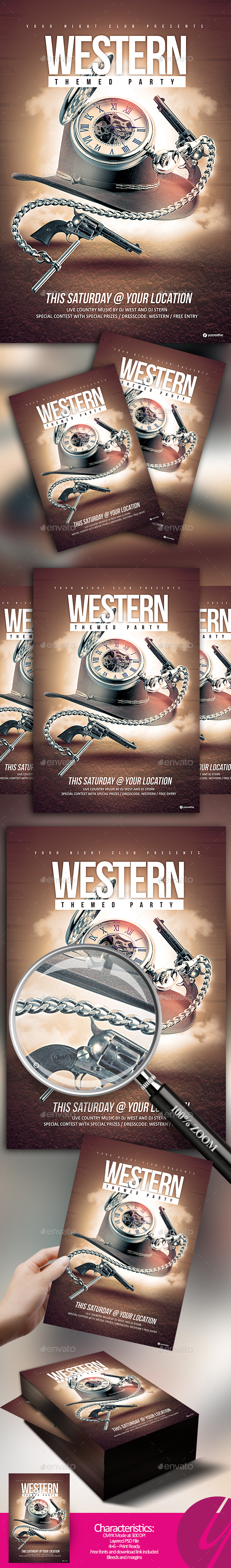 Western Themed Party - Clubs & Parties Events