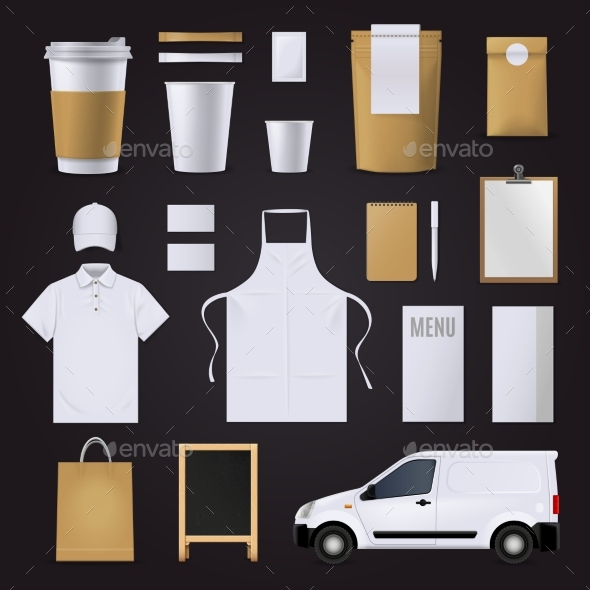 Coffee Corporate Identity Set - Concepts Business