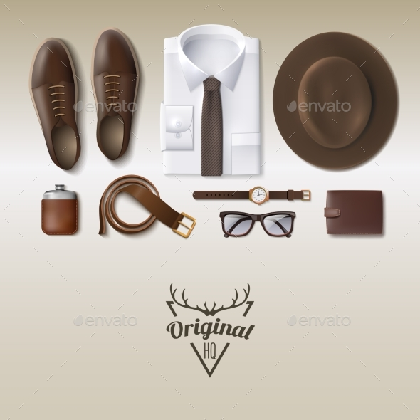 Men Fashion Concept - Man-made Objects Objects